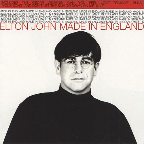 elton john made in england uk 2 cd single set double cd single 430663. Black Bedroom Furniture Sets. Home Design Ideas