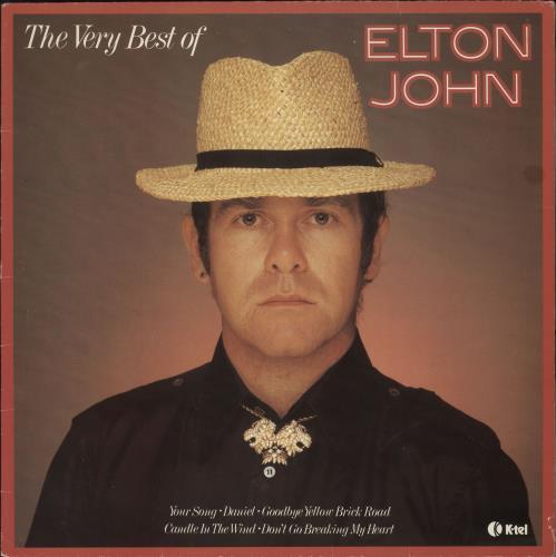 Elton John The Very Best Of Elton John Uk Vinyl Lp Album