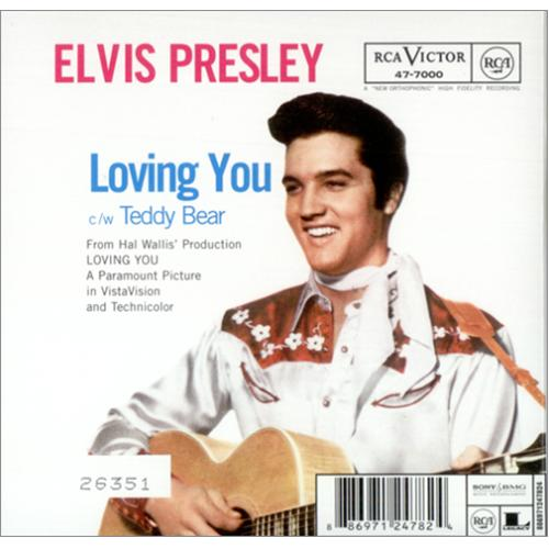Elvis Presley Let Me Be Your Teddy Bear Uk Cd Single