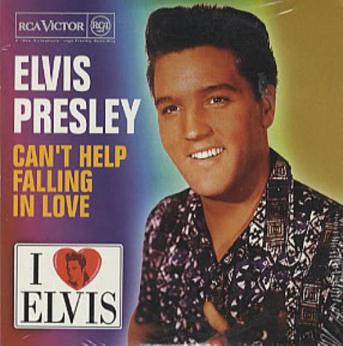 elvis presley cant help falling in love spanish promo cd