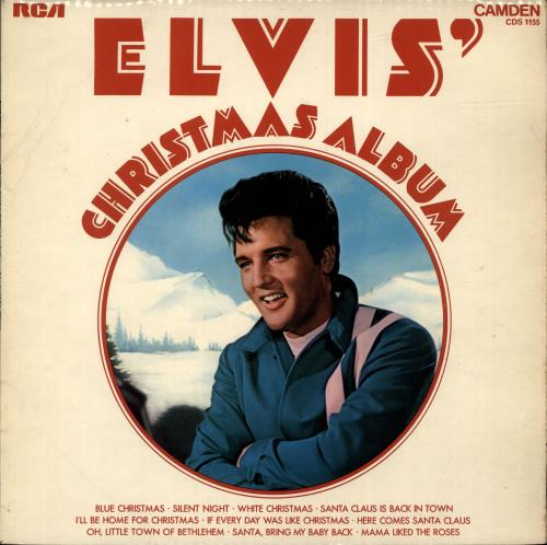 Elvis Presley Elvis' Christmas Album UK vinyl LP album (LP record ...