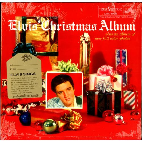 Elvis Presley Elvis' Christmas Album German vinyl LP album (LP ...