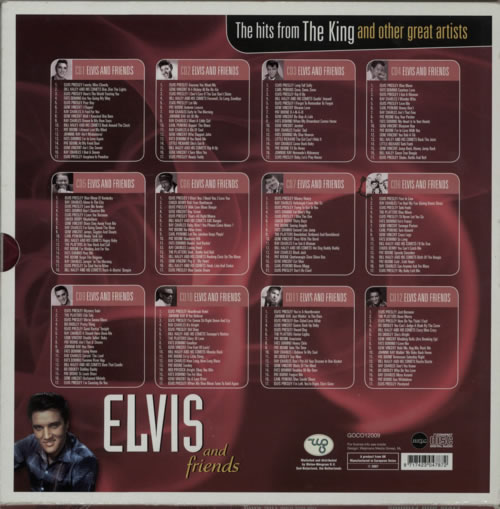 Elvis Presley Elvis And Friends Dutch Cd Album Box Set