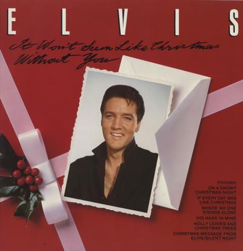 Elvis Presley It Won't Seem Like Christmas Without You German ...