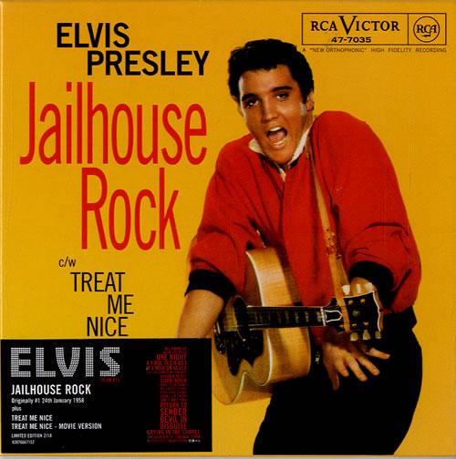 Elvis Presley Jailhouse Rock Numbered Uk Cd Single Cd5