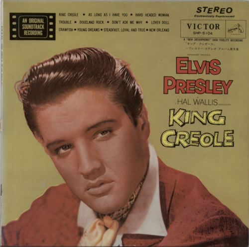 Elvis Presley King Creole Japanese Vinyl Lp Album Lp