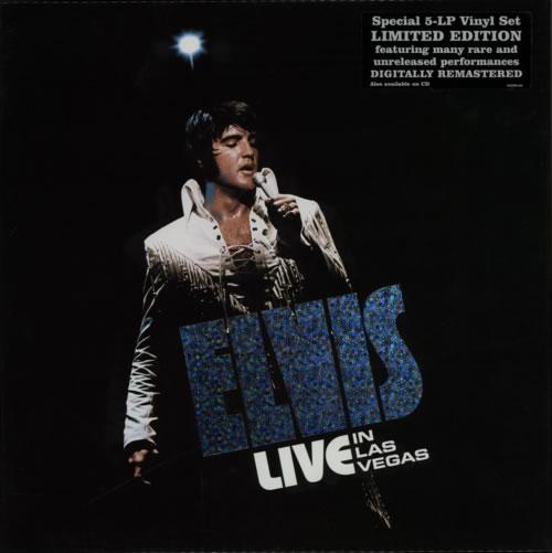 Resultado de imagem para Elvis Presley Live In Las Vegas BOX
