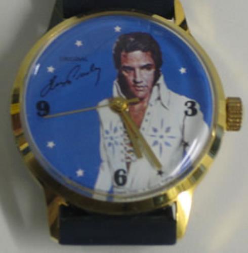 Elvis Presley Original Elvis Presley Watch Uk Memorabilia
