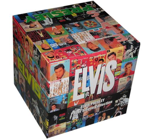 elvis presley paper sleeve collection box only japanese box set 426719. Black Bedroom Furniture Sets. Home Design Ideas