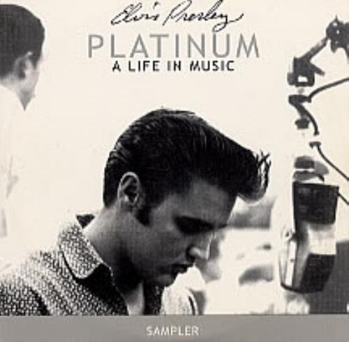 Elvis Presley Platinum A Life In Music Australian Promo Cd