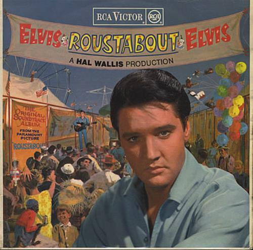 Elvis Presley Roustabout Red Spot Ex Uk Vinyl Lp Album