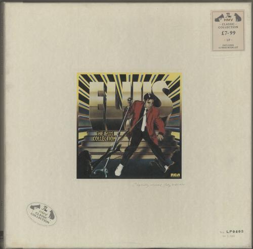 Elvis Presley The Sun Collection Hmv Vinyl Box Set Uk