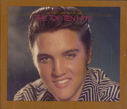 Elvis Presley The Top Ten Hits Us 2 Cd Album Set Double