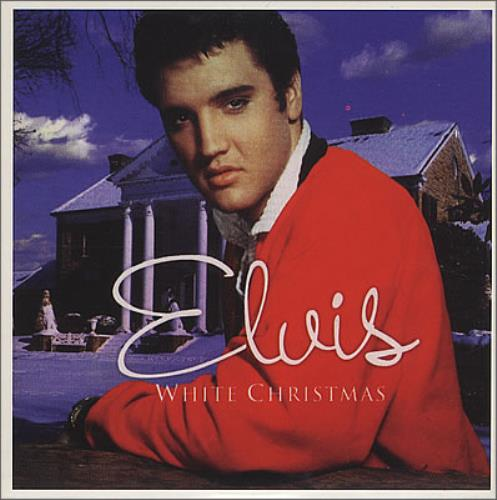Elvis Presley White Christmas European Promo CD album (CDLP) (373636)