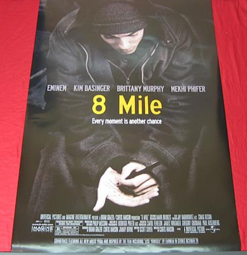 Eminem 8 Mile - Double Sided Movie Poster US Promo poster ...