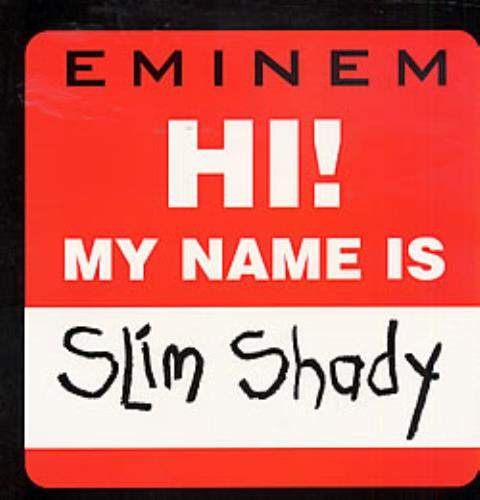 Eminem Hi My Name Is Uk Promo 12 Quot Vinyl Single 12 Inch