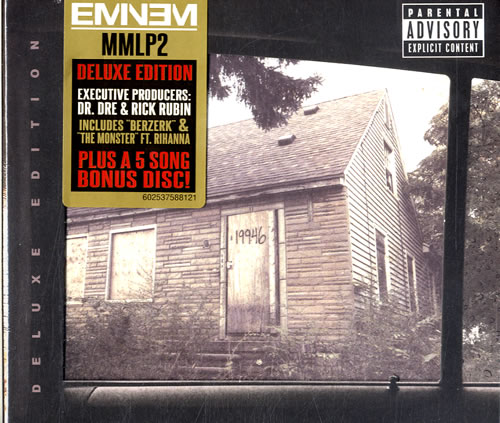 eminem the marshall mathers lp 2 deluxe edition uk 2 cd