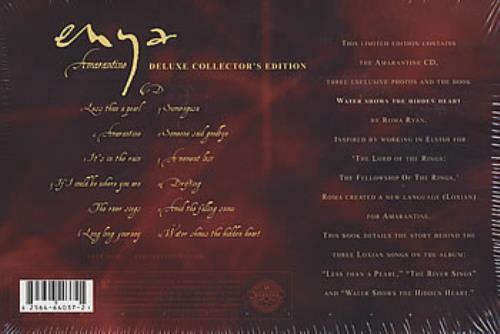 Enya Amarantine - Sealed box US CD album (CDLP) (380710)
