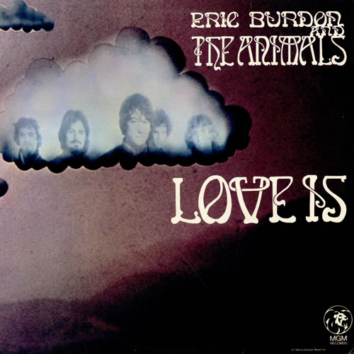 Eric Burdon Amp The Animals Love Is Uk Vinyl Lp Album Lp