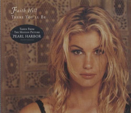 Faith Hill There You Ll Be German Promo Cd Single Cd5 5