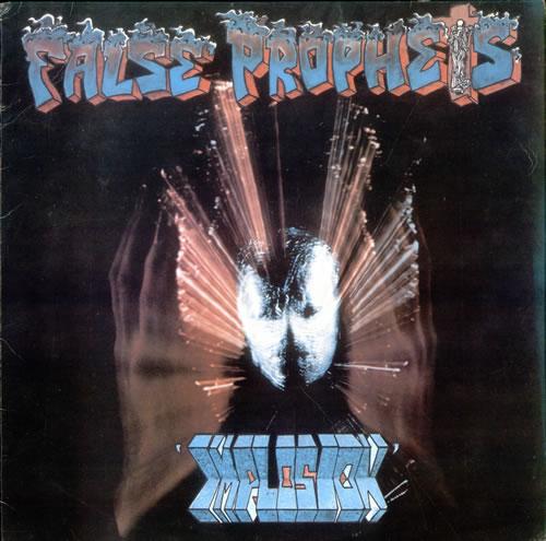 False Prophets Implosion UK vinyl LP album (LP record) (527978)