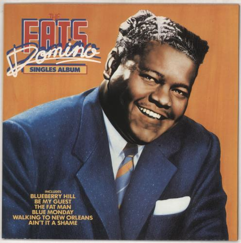 Fats Domino Singles Album Uk Vinyl Lp Album Lp Record