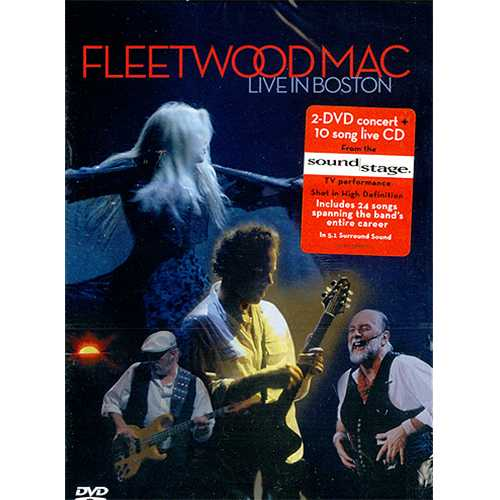 Fleetwood Mac Live In Boston Sealed Uk 2 Disc Cd Dvd Set
