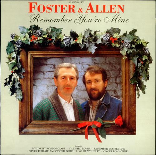 Foster Amp Allen Remember You Re Mine Uk Vinyl Lp Album Lp