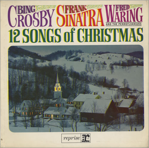 Frank Sinatra 12 Songs Of Christmas UK vinyl LP album (LP record ...