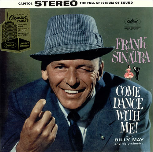 Frank Sinatra Come Dance With Me 180gm Sealed Us Vinyl