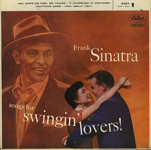 Frank Sinatra Songs For Swingin Lovers Part 1 Ep