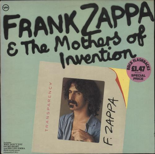 Frank Zappa Frank Zappa Amp The Mothers Of Invention Vg