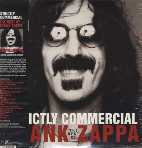 Frank Zappa Strictly Commercial Obi Uk 2 Lp Vinyl Record