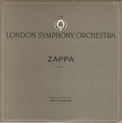 Frank Zappa The London Symphony Orchestra Volume 1 Us