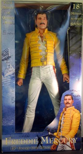 Freddie Mercury Action Figure Uk Toy 362051 634482420652