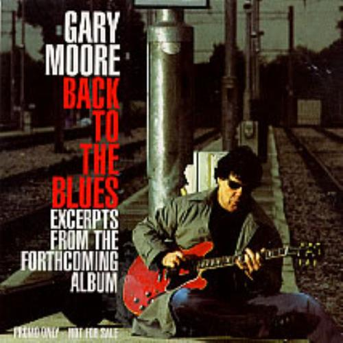 Gary Moore Back To The Blues Uk Promo Cd Single Cd5 5