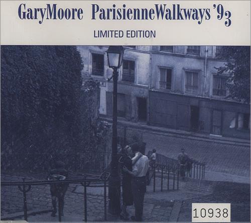 Gary Moore Parisienne Walkways 93 Uk Cd Single Cd5 5