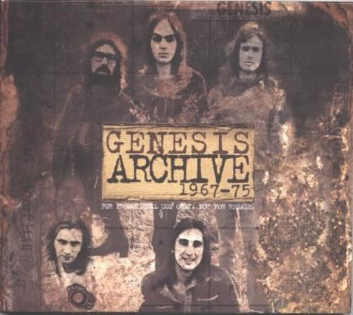 GENESIS Archive 1967-1975 reviews - Progarchives.com