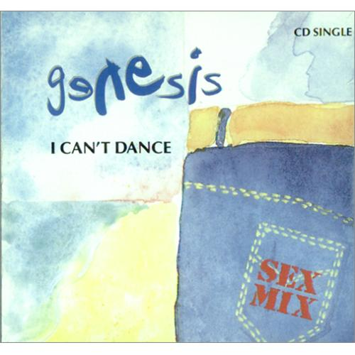 genesis i can 39 t dance us cd single cd5 5 3996. Black Bedroom Furniture Sets. Home Design Ideas