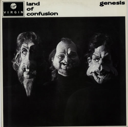 genesis land of confusion uk 12 vinyl single 12 inch. Black Bedroom Furniture Sets. Home Design Ideas