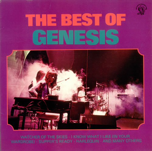 Genesis The Best Of Genesis Norwegian Vinyl Lp Album Lp