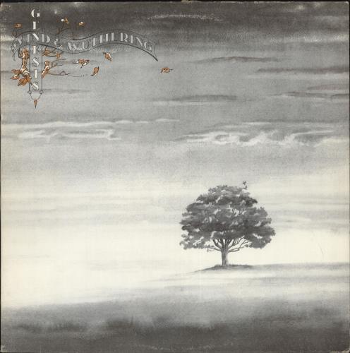Genesis Wind And Wuthering Canadian Vinyl Lp Album Lp