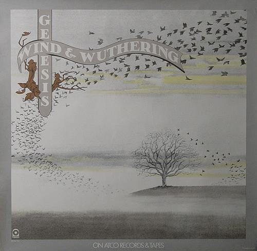 Genesis Wind And Wuthering Us Promo Poster 491312