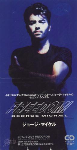 George Michael Freedom Japanese 3 Quot Cd Single Cd3 107443