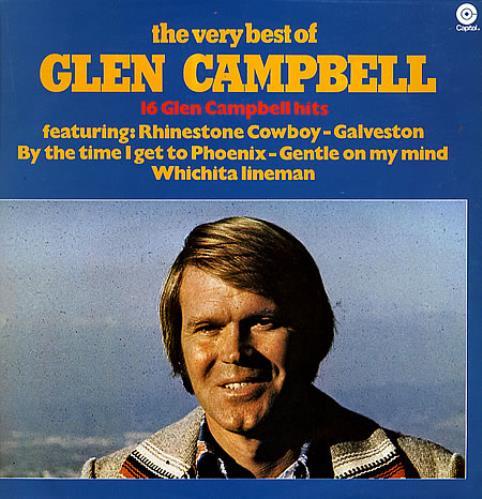 Glen Campbell The Very Best Of Dutch Vinyl Lp Album Lp