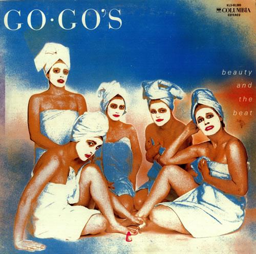 Αποτέλεσμα εικόνας για BEAUTY AND THE BEAT-The Go-Gos vinyl cover