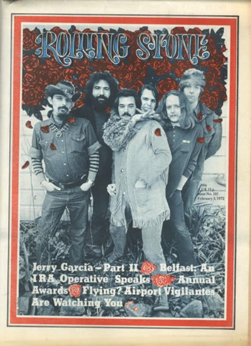 Grateful Dead Rolling Stone Issues 100 101 Us Magazine