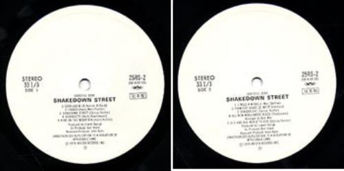 Grateful Dead Shakedown Street Japanese Promo Vinyl Lp