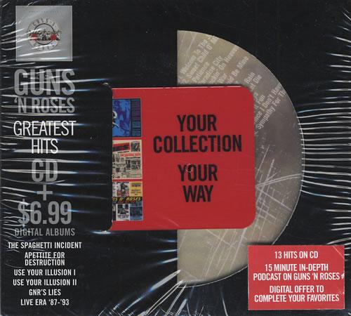 Greatest Hits Guns N Roses: Guns N Roses Greatest Hits US 2 CD Album Set (Double CD