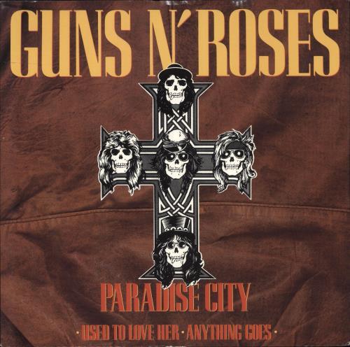 Guns N Roses Paradise City Ex Uk 12 Quot Vinyl Single 12